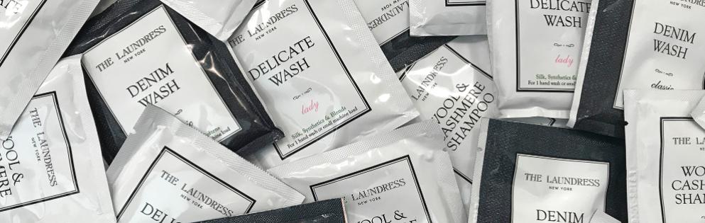 Free Denim Wash, Wool & Cashmere Shampoo, or Delicate Wash Sample