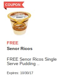 Jewel Osco ~ Free Senor Ricos Single Serve Pudding, La Colombe Draft Latte, Chocolate Peanut Butter Cheerios Exp. 10/30