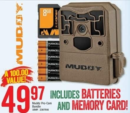 Bass Pro Shops Black Friday: Muddy Pro-Cam Bundle for $49.97