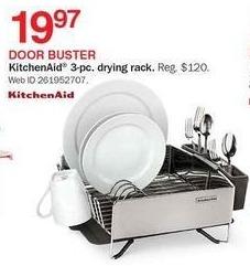 Bon-Ton Black Friday: KitchenAid 3-pc. Drying Rack for $19.97