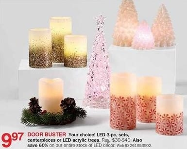 Bon-Ton Black Friday: LED Decor - 60% Off