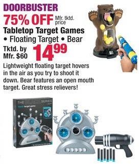 Boscov's Black Friday: Tabletop Target Games for $14.99