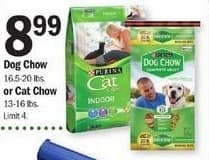 Meijer Black Friday: Purina Dog or Cat Chow for $8.99