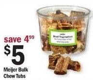 Meijer Black Friday: Meijer Bulk Chew Tubs for $5.00