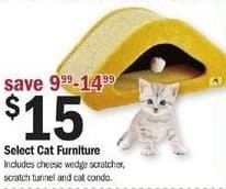 Meijer Black Friday: Select Cat Furniture for $15.00