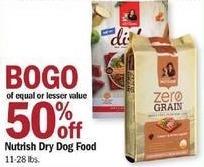 Meijer Black Friday: Nutrish Dry Dog Food - B1G1 50% Off
