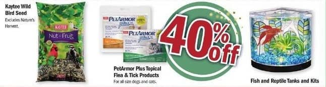Meijer Black Friday: PetArmor Plus Topical Flea & Tick Products - 40% Off
