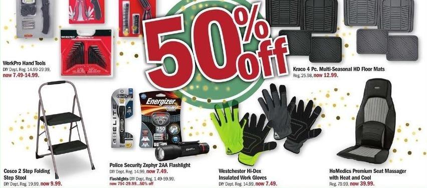Meijer Black Friday: HoMedics Premium Seat Massager w/Heat and Cool - 50% Off