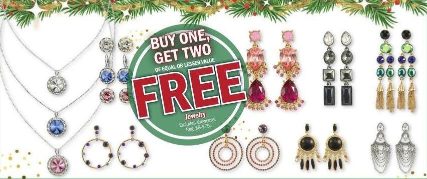 Meijer Black Friday: Select Jewelry - B1G2 Free