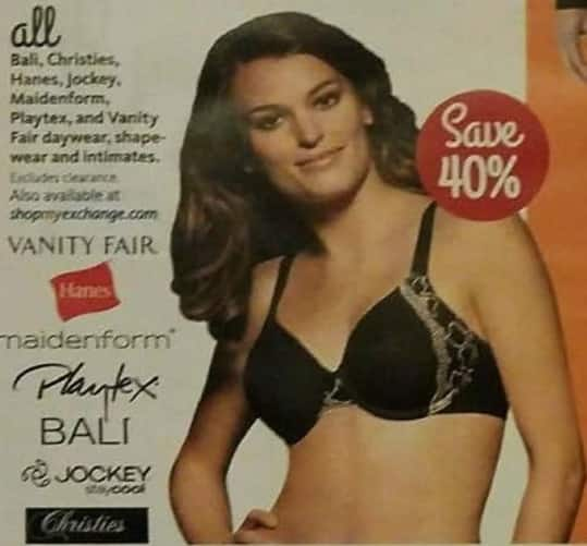 AAFES Black Friday: Women's Bali, Christies, Hanes, Jockey, Maidenform, Playtex and Vanity Fair Shape-Wear and Intimates - Save 40%