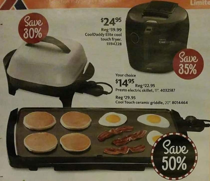 AAFES Black Friday: CoolDaddy Elite Cool Touch Fryer for $24.95