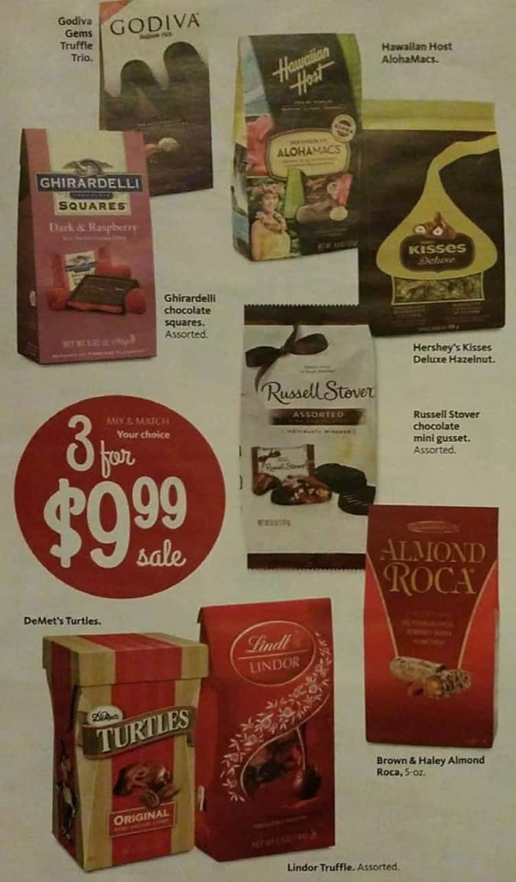 AAFES Black Friday: Godiva Gems, Turtles, Almond Roca, Russell Stover Chocolate Mini Gusset and More - 3 for $9.99