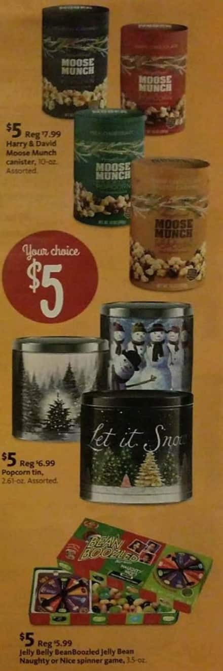 AAFES Black Friday: Harry and David Moose Munch, Milk Chocolate Moose, Popcorn Tin or Jelly Belly BeanBoozled Jelly Beans for $5.00