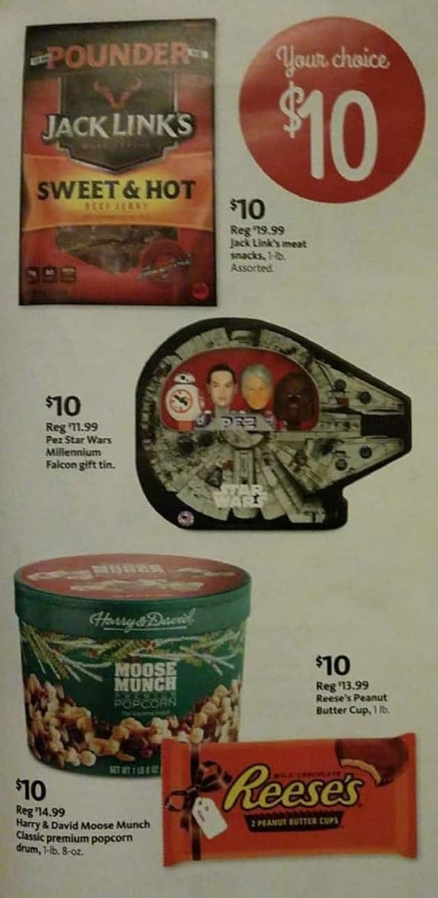 AAFES Black Friday: Jack Links Meat Snacks, Harry & David Moose Munch, Reese's Peanut Butter Cup or PEZ Star Wars for $10.00