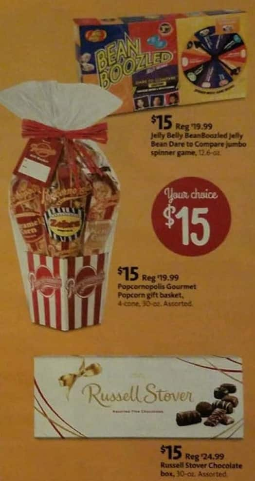 AAFES Black Friday: Russell Stover Boxed Chocolates, Popcorn Gift Basket or Jelly Belly BeanBoozled for $15.00