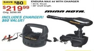 Dunhams Sports Black Friday: Endura Max 44 with Charger for $219.99