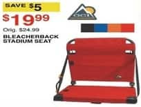 Dunhams Sports Black Friday: GCI Bleacherback Stadium Seat, Assorted Colors for $19.99