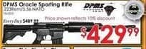 Rural King Black Friday: DPMS Panther Oracle .223/5.56 AR-15 Rifle 60531 for $429.99