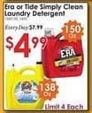 Rural King Black Friday: Era or Tide Simply Clean Laundry Detergent for $4.99