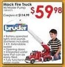 Rural King Black Friday: Bruder Mack Granite Fire Engine Truck w/ Water Pump for $59.98