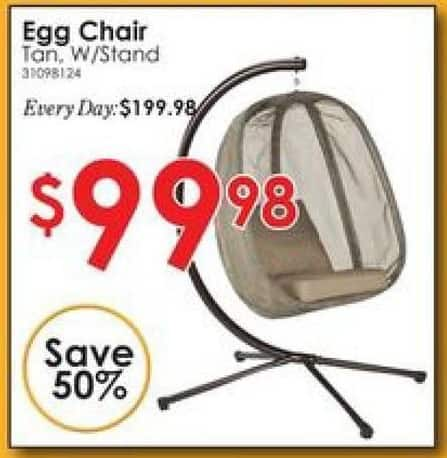 Rural King Black Friday: FlowerHouse Mesh Egg Chair for $99.98