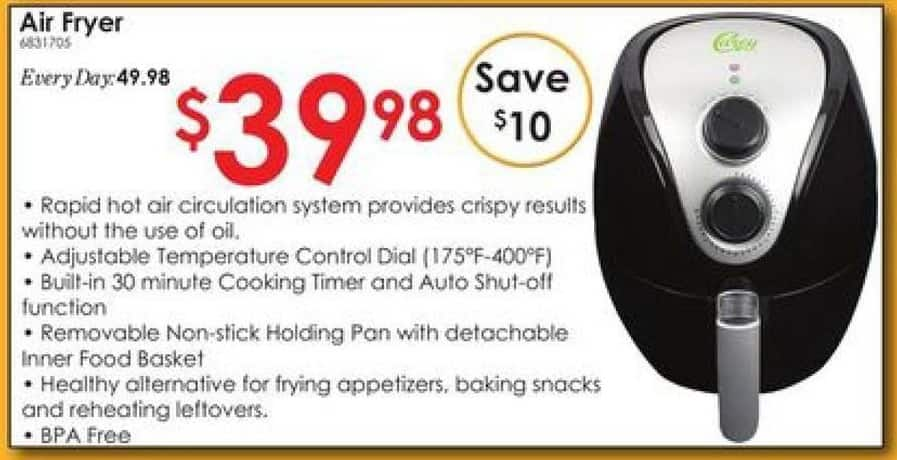 Rural King Black Friday: Air Fryer for $39.98