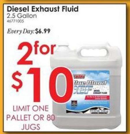 Rural King Black Friday: CAM2 Blue Blood DEF Diesel Exhaust Fluid 2.5 Gallons - 2 for $10