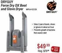Sportsman's Warehouse Black Friday: Dryguy Force Dry DX Boot and Glove Dryer for $49.99