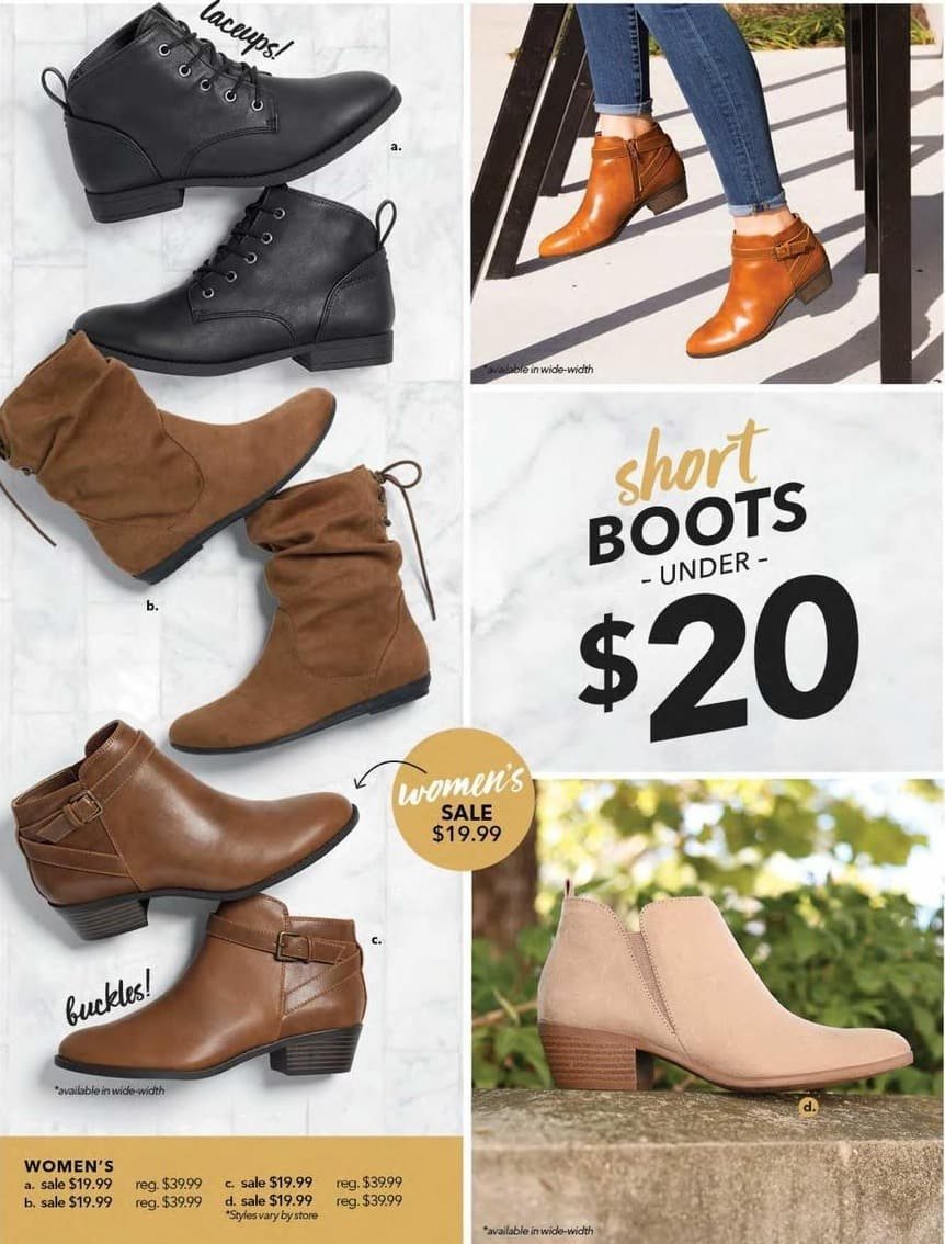 Payless ShoeSource Black Friday: Women's Lace Up, Tan or