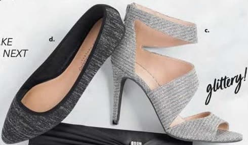 Payless ShoeSource Black Friday: Women's Grey Heel Shoe for $19.99