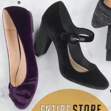 Payless ShoeSource Black Friday: Women's Black Heeled Shoe for $19.99