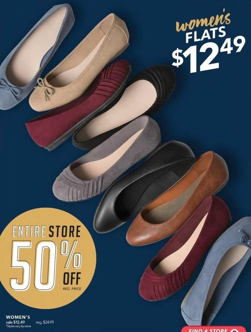 a4218ceb74f9f Payless ShoeSource Black Friday  Women s Flats Shoes