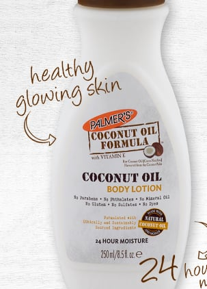 Free Palmer's Coconut Oil Body Lotion Sample *Back Again*