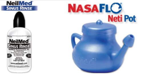 FREE NeilMed Sinus Rinse Bottle or NasaFlo Neti Pot