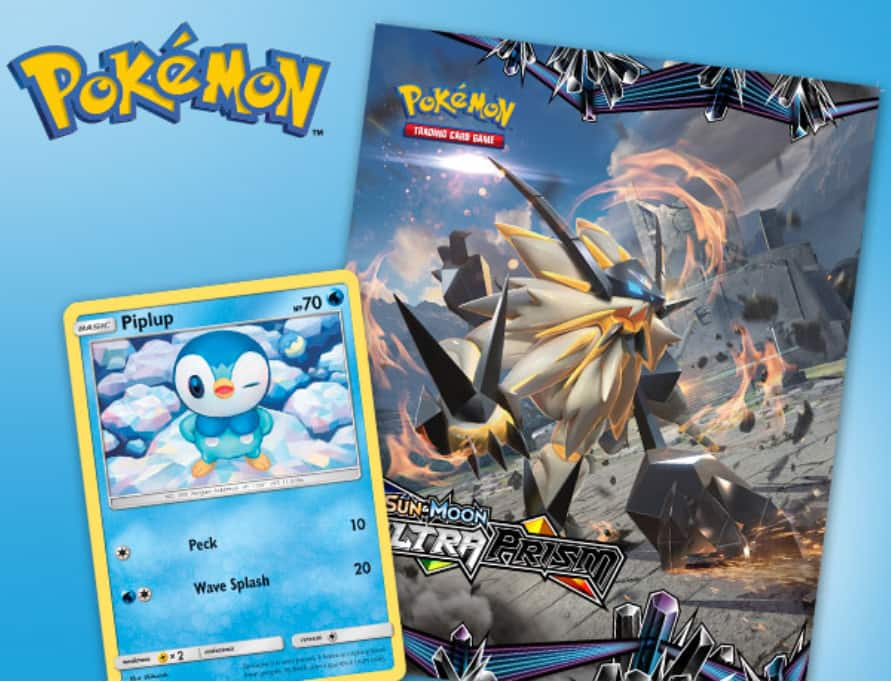 "FREE Pokémon Piplup Foil Card and Poster *Toy""R""Us In-Store Event 2/3"