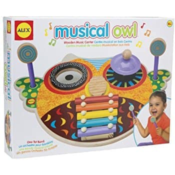 Musical Owl 4 instruments in 1 $14 @Amazon