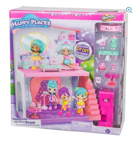 Happy Places Shopkins School Extension - Prom Night $4.97 @Amazon (*Add-On) or Walmart