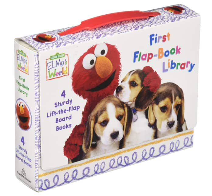 Elmo's World First Flap-Book Library (4 Books) $5.85 @Amazon or Walmart