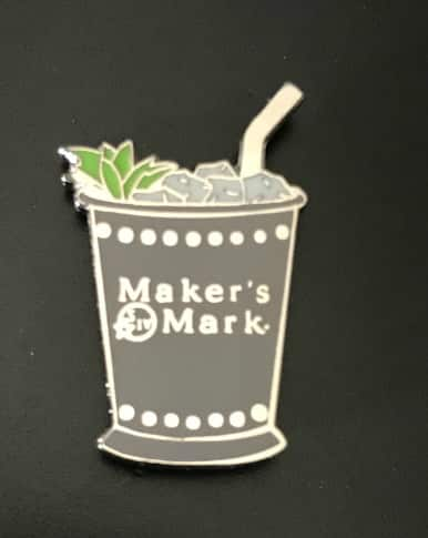 HU - Free Mint Julep Pin by Maker's Mark in USPS Mail