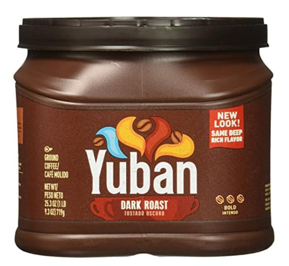Yuban Ground Coffee, Dark Roast, 25.3 Ounce $5.09 or $5.63 w/SS *Add-On
