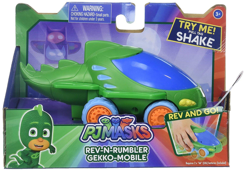 PJ Mask Rev N Rumblers Gekko Mobile Vehicle $3.30 @Amazon *Add-On FS