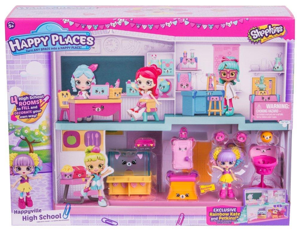 Shopkins Happy Places Happyville High School Playset $9.97 @Amazon