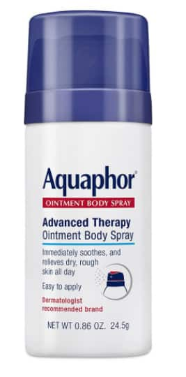 Free Sample of the Aquaphor Ointment Body Spray - First 50,000