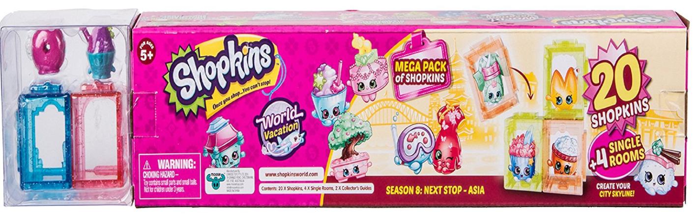 Shopkins Season 8 America Mega Pack $6.88 (was $21.99) @Amazon