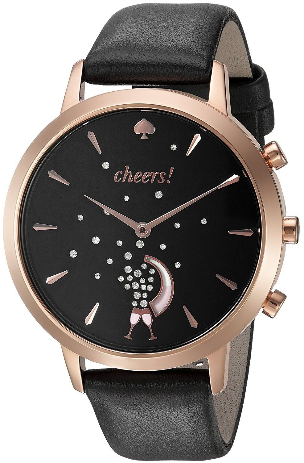 Kate Spade KST23100/23102 Grand Metro Women's Black and Rose Gold Hybrid Smartwatch $79.99 (was $250.00) FS @Amazon