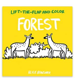 Lift-the-flap and Color Books - Forest or African Animals $1.83 & $2.21 (Paperback) @Amazon