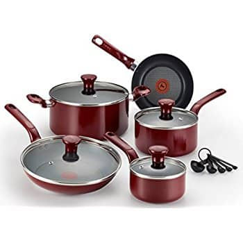 14-Piece T-fal C514SE Excite Nonstick Thermo-Spot PFOA Free Cookware Set $43 @Amazon Free Shipping