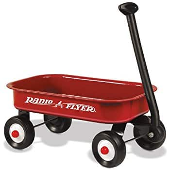 Radio Flyer Little Red Toy Wagon $14.97 @Walmart, Amazon