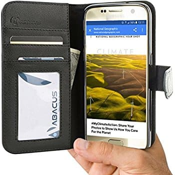 Abacus24-7 via Amazon Phone Wallet Cases for Galaxy S7 Edge, S8 and Note 8 $2 each