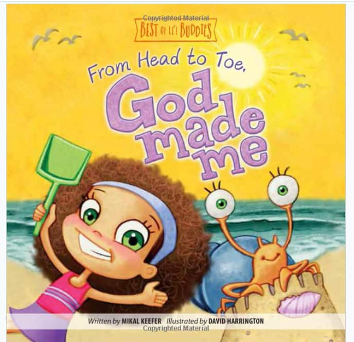 From Head to Toe, God Made Me (Best of Li'l Buddies) Hardcover Book $1.80